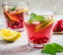 bezalkoholowy drink szklanki