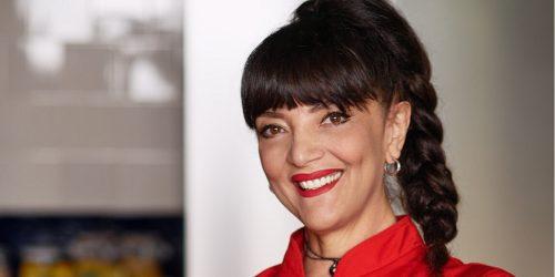 Cristina Catese na okładce ebooka z przepisami