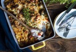 włoski makaron zapiekany lasagne